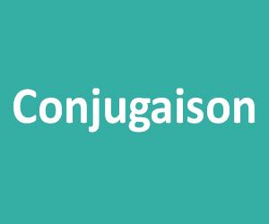 Conjugaison CM1 - CM2
