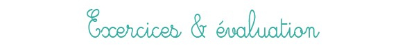 Évaluation et exercices sur les déterminants pour le CE1 et le CE2