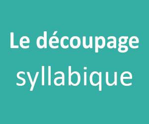 Le découpage syllabique des mots en CP et CE1