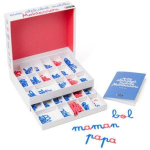 L'alphabet mobile Montessori