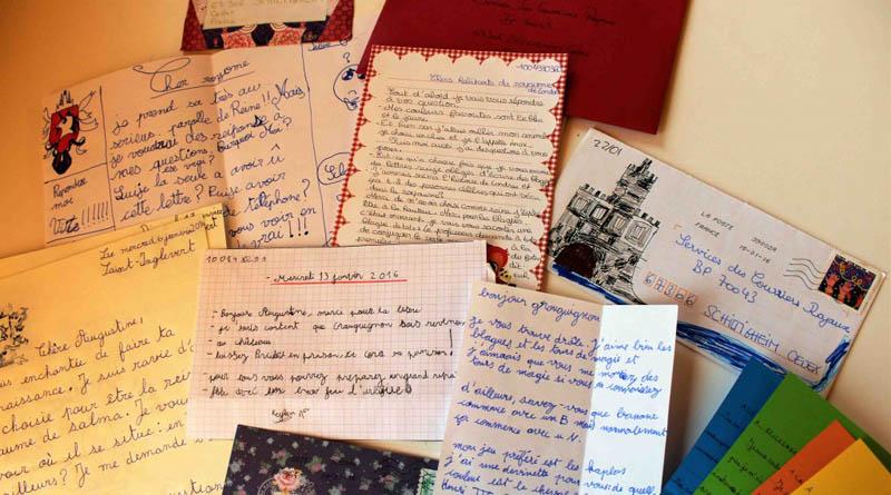 La correspondance postale pour faire lire