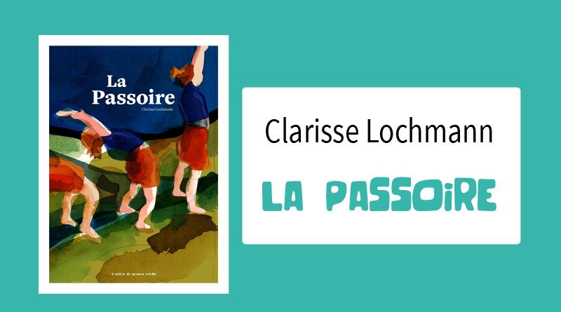 """Livre """"La passoire"""" de Clarisse Lochmann"""