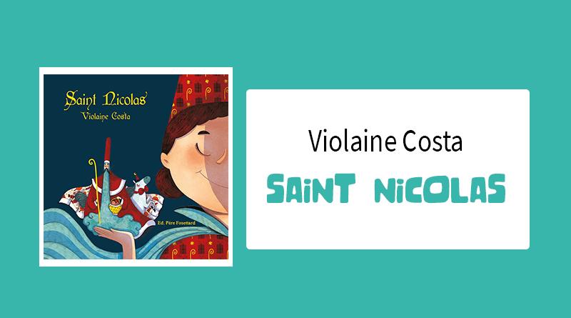 "Livre ""Saint Nicolas"" de Violaine Costa"