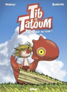 Tib et Tatoum BD de dinosaure pour enfant