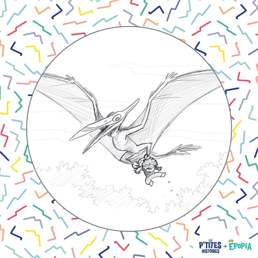 Conte & histoire de dinosaure pour enfant