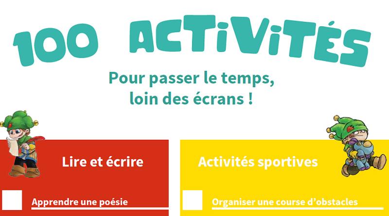 100 idées d'activités pour enfants