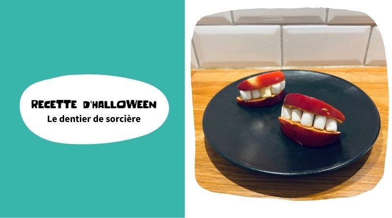 Recette d'Halloween : le dentier de la sorcière