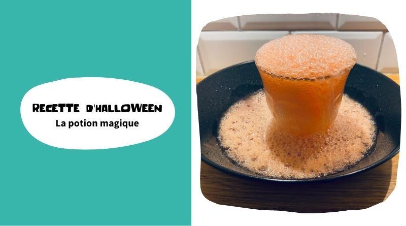 Recette de potion magique pour Halloween