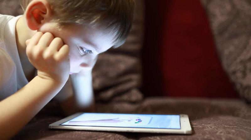Temps des enfants passé devant un écran