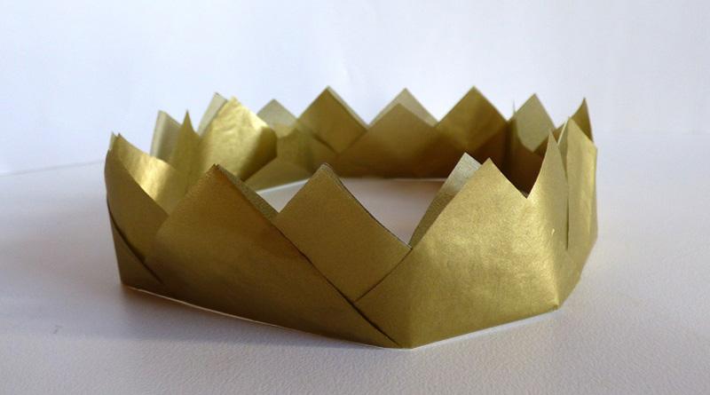 Bricolage & activité : fabriquez une couronne pour la galette des rois