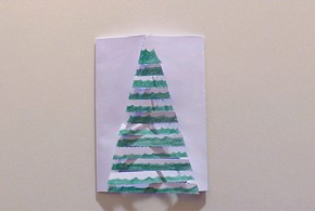 Carte de Noël CM2