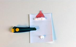 Carte de voeux de Noël CM1