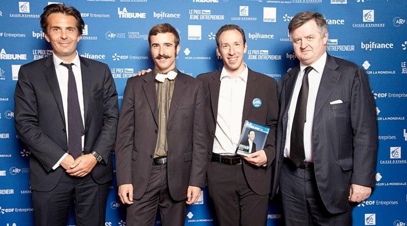 Epopia a remporté prix La Tribune jeune entrepreneur