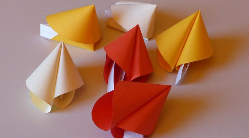 Fabriquer des fortune cookies en papier