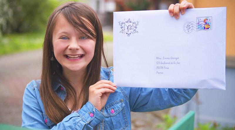 Pourquoi les enfants adorent adorent recevoir du courrier ?