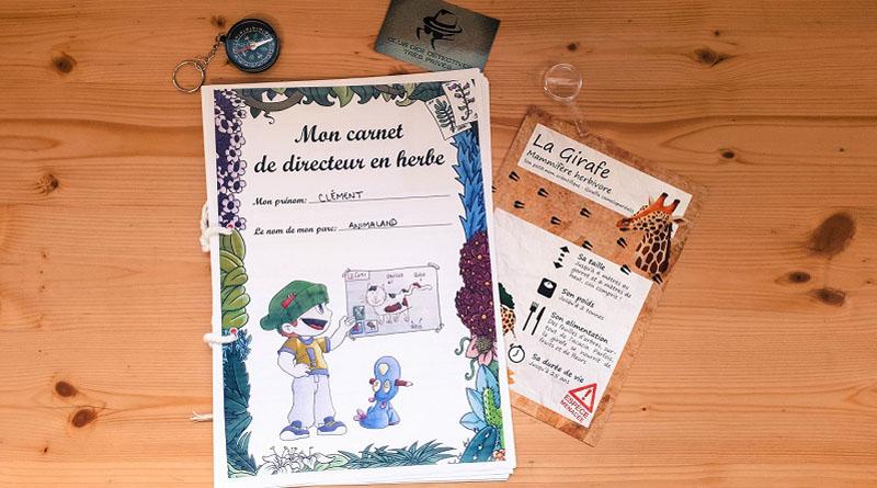 Réaliser des carnets d'aventuriers en classe