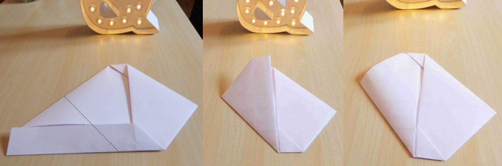 Tuto faire une enveloppe avec une feuille de papier