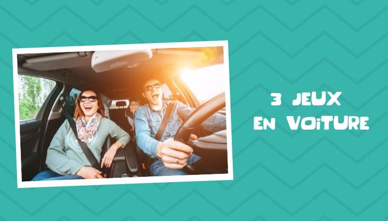 Jeux et activités pour passer le temps en voiture avec des enfants